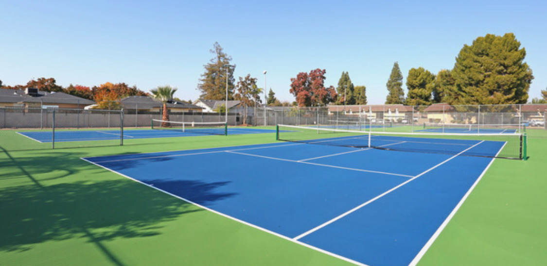 Park West Apartment Homes Fresno Tennis Courts